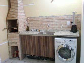 Projetos de churrasqueiras em pequenos espa?os Decorando Casas