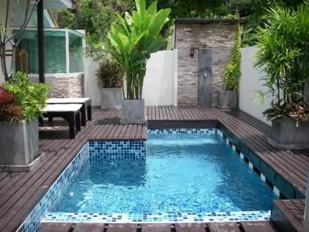 Projetos de piscinas em espa os pequenos decorando casas for Piscina gratuita
