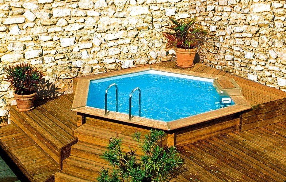 Projetos de piscinas em espa os pequenos decorando casas Piscinas estructurales