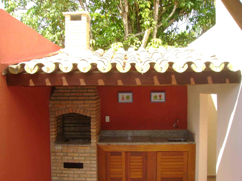 Projetos de quiosques com churrasqueiras grátis Decorando Casas #7A3219 2816 2112