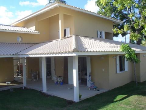 Cobertura de casas simples