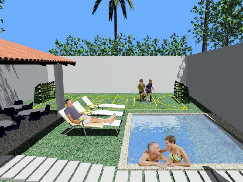 Projetos de área de lazer com churrasqueira e piscina  Decorando