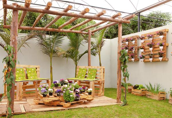 Como fazer um jardim suspenso e vertical passo a passo  Decorando