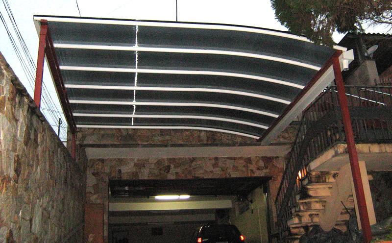 coberturas para garagens : Coberturas para garagens residenciais baratas Decorando Casas