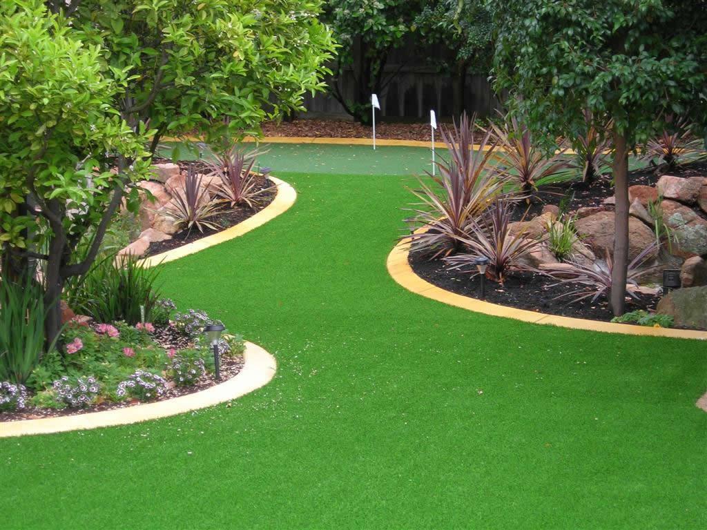Flores e plantas artificiais para jardim decorando casas for Plantas modernas para jardin