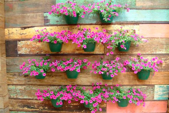 Flores e plantas artificiais para jardim  Decorando Casas