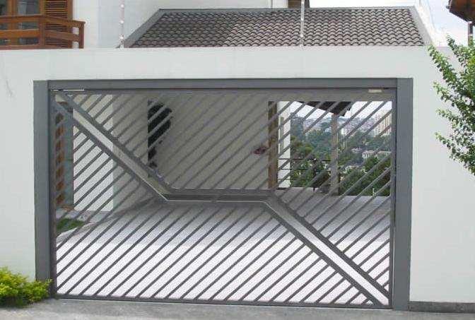modelos-de-portões-garagens-residenciais