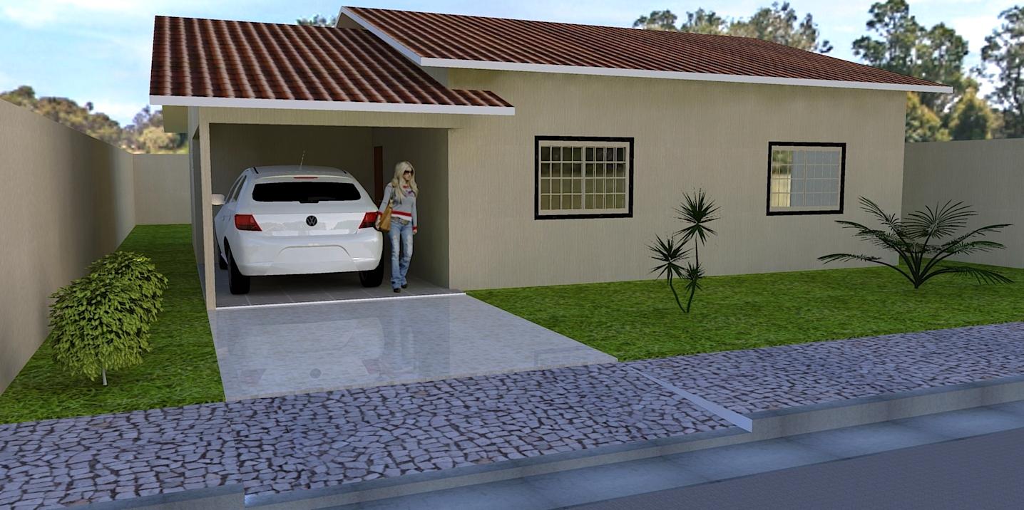 Pinturas externas de casas simples e pequenas decorando for Decorando casa