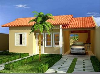 Pinturas externas de casas simples e pequenas decorando for Casas modernas simples