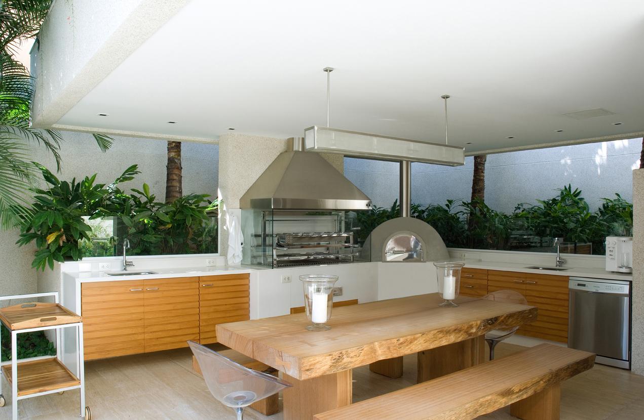 fotos de projetos de churrasqueiras modernas #9E6B2D 1271 830