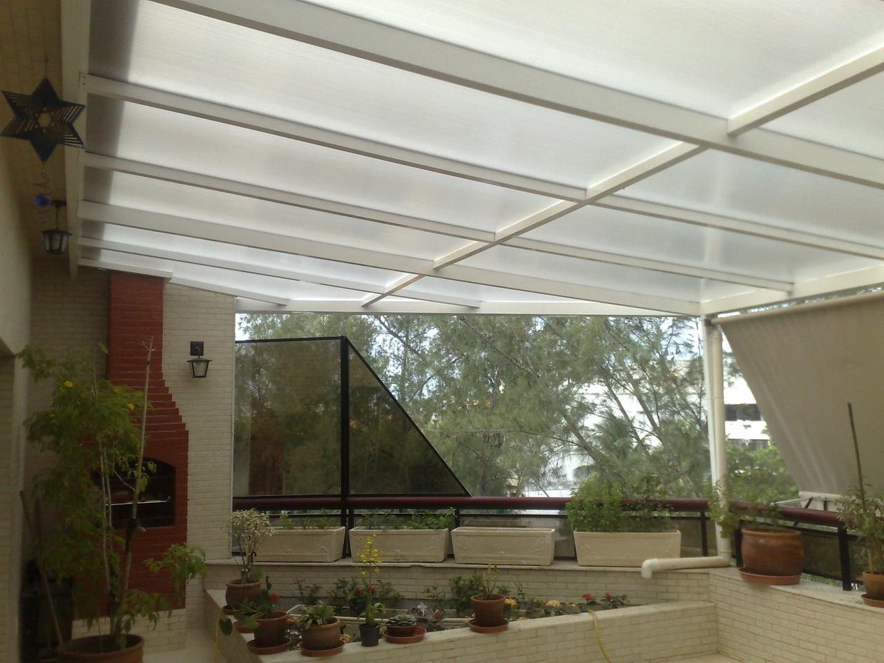 Coberturas policarbonato pre o m2 decorando casas for Toldos transparentes