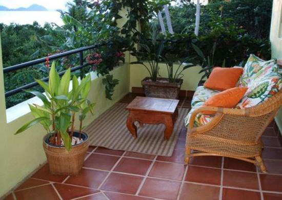 Decoraç u00e3o varanda pequena e simples Decorando Casas