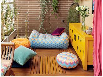 decoração-de-varandas-pequenas-simples