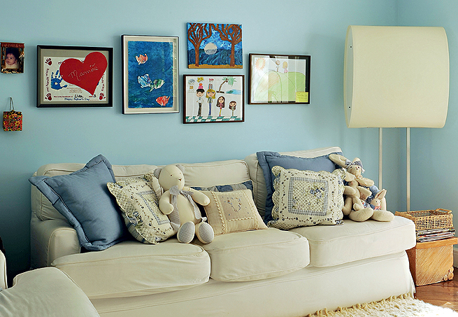 Dicas de tintas para parede da sala decorando casas - Paredes pintadas ...
