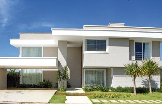 Fachadas de casas modernas sem telhado aparente for Fotos de casas modernas com telhado aparente