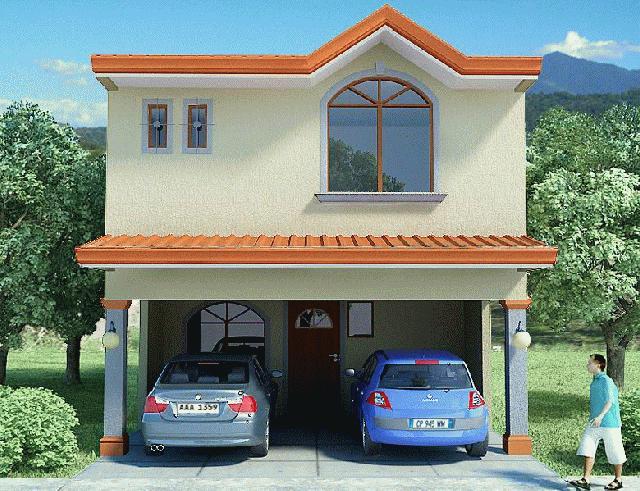 Casa Pequenas E Suas Fachadas Blog Jardinagem E
