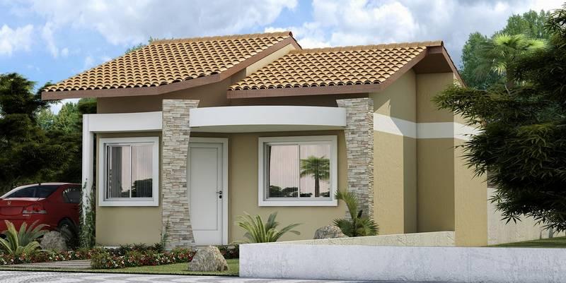 fachadas de casas pequenas com telhados decorando casas On modelos jardines para casas pequenas