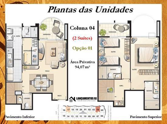 Plantas casas 3 quartos plantas casas duplex plantas casas for Jardins mangueiral planta 3 quartos