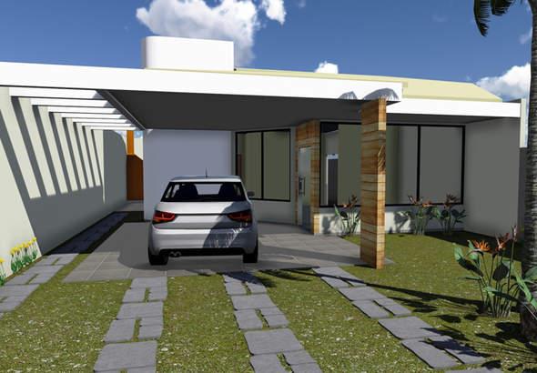 plantas-de-casas-térreas-modernas