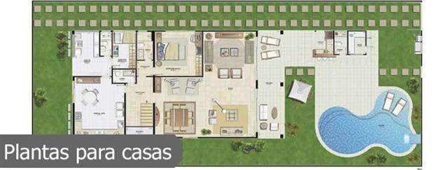 Plantas de casas t rreas modernas decorando casas for Casa moderna 7x20
