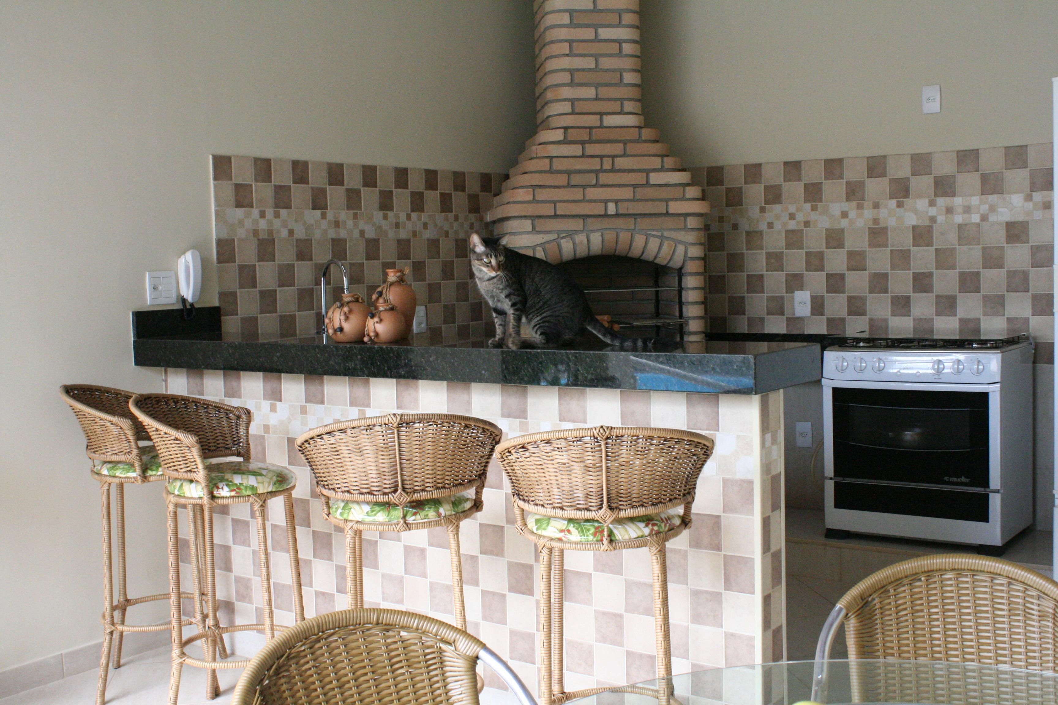Projetos de churrasqueiras de canto Decorando Casas #4E617D 3456x2304