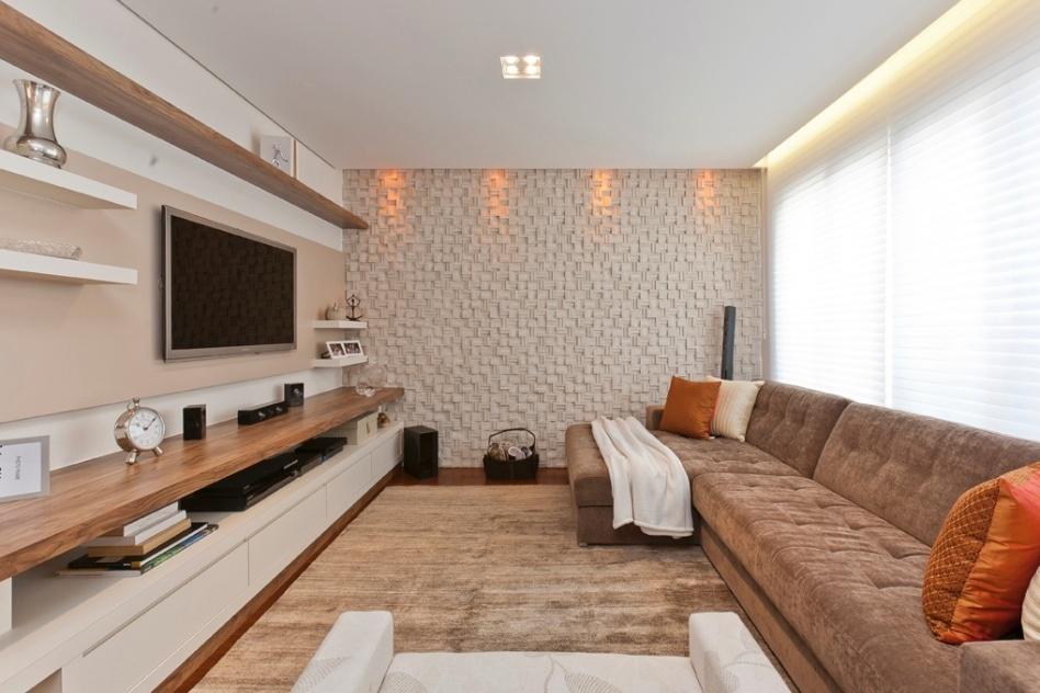 Gesso Pra Sala De Tv ~ fotos de revestimento canjiquinha para parede