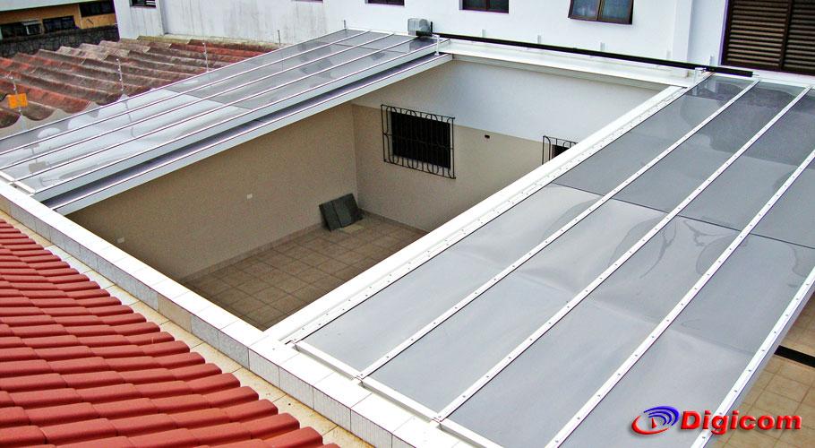 Amado Coberturas policarbonato retrátil | Decorando Casas JM29