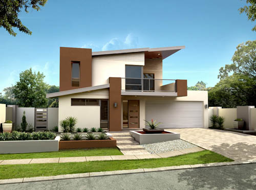 Pinturas de casas modernas 2014 decorando casas for Pintura casa moderna