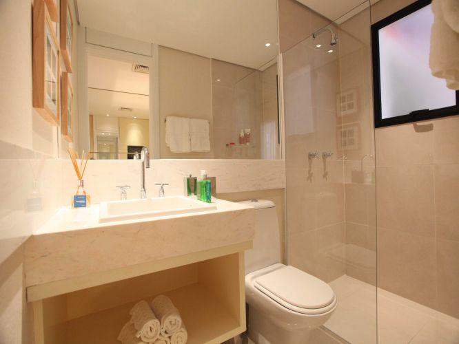 Decoração de banheiros modernos e sofisticados  Decorando Casas -> Decoracao Banheiro Moderno