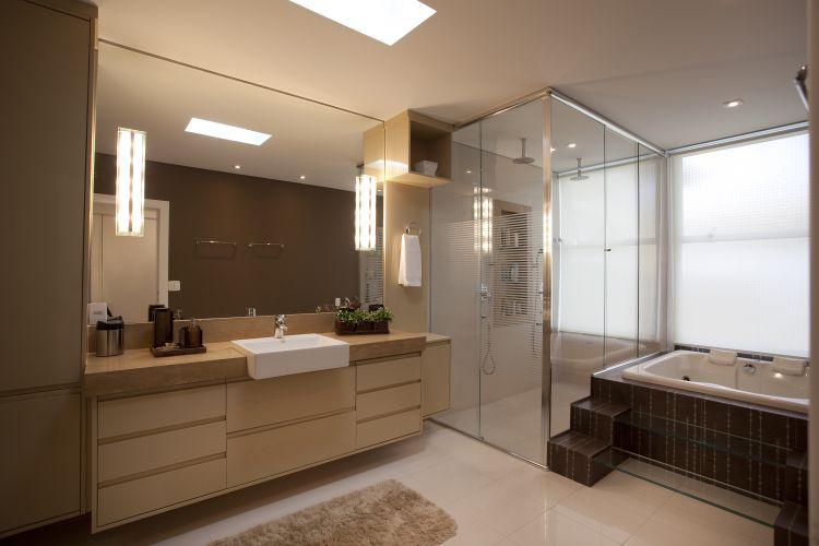 Decoração de banheiros modernos e sofisticados  Decorando Casas -> Armario De Banheiro Por Dentro