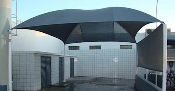 Coberturas para garagem residencial decorando casas for Aggiunta in cima al garage