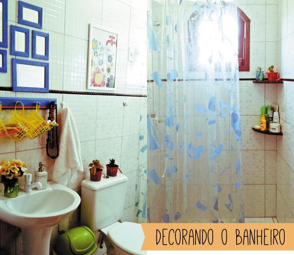 decorar banheiro simples:Como decorar banheiro gastando pouco