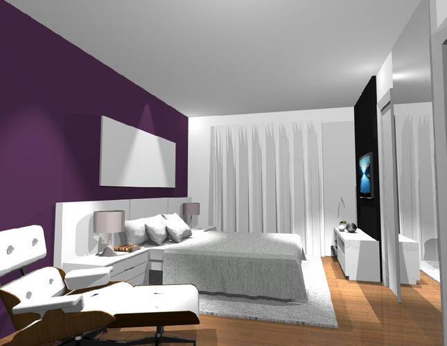 Cores de tintas para casas modernas tend ncias 2015 for Ambientes minimalistas interiores