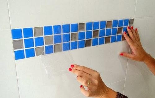 Como decorar banheiro gastando pouco  Decorando Casas -> Como Reformar Banheiro Pequeno Gastando Pouco