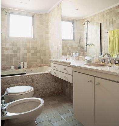 Azulejos para banheiros pequenos e modernos decorando casas - Azulejos grandes ...