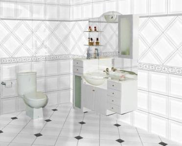 Azulejos para banheiros pequenos e modernos decorando casas - Fotos pisos modernos ...