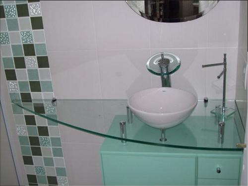 Azulejos para banheiros pequenos e modernos  Decorando Casas -> Decoracao De Azulejos Para Banheiro Pequeno