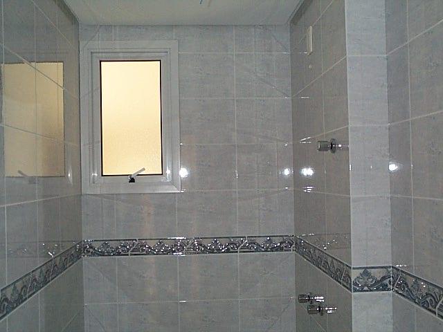 Azulejos para banheiros pequenos e modernos decorando casas - Piso pequeno moderno ...