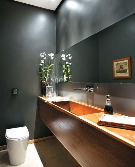 decoracao banheiros e lavabos:Polished Concrete