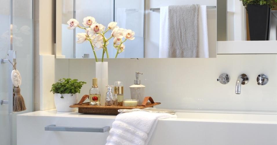 Dicas decoração banheiro lavabo  Decorando Casas -> Dicas De Decoracao De Banheiro Com Banheira