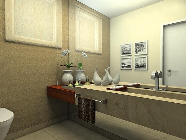 decoracao lavabos banheiros:Dicas decoração banheiro lavabo