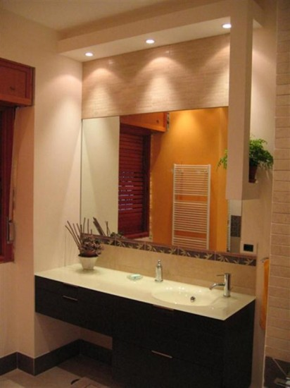 Espelhos Para Banheiros Com Luz Decorando Casas