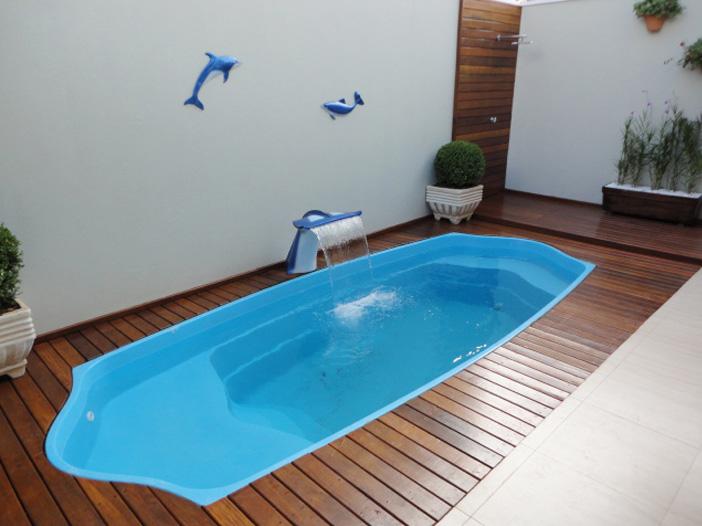 Projetos de piscinas de fibra decorando casas for Piscinas de fibras