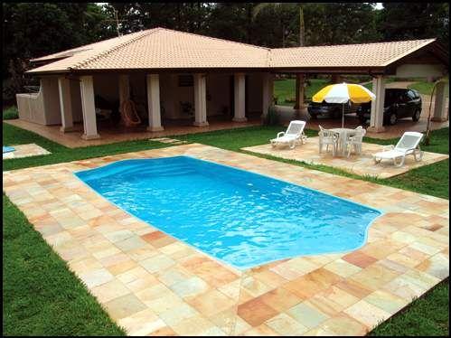 Projetos de piscinas de fibra decorando casas - Piscina redonda fibra ...
