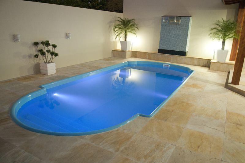 Projetos de piscinas de fibra decorando casas for Piscina 8000 litros redonda