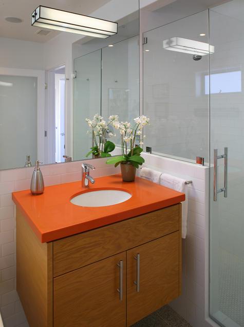 Decoraç u00e3o de banheiros simples e pequenos Decorando Casas -> Decoração De Banheiro Simples E Pequeno