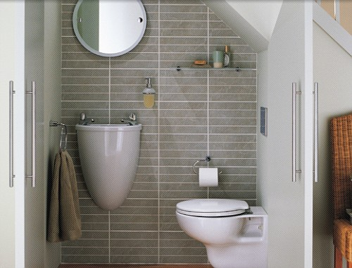 Decoração de banheiros simples e pequenos  Decorando Casas -> Banheiros Medios Decorados