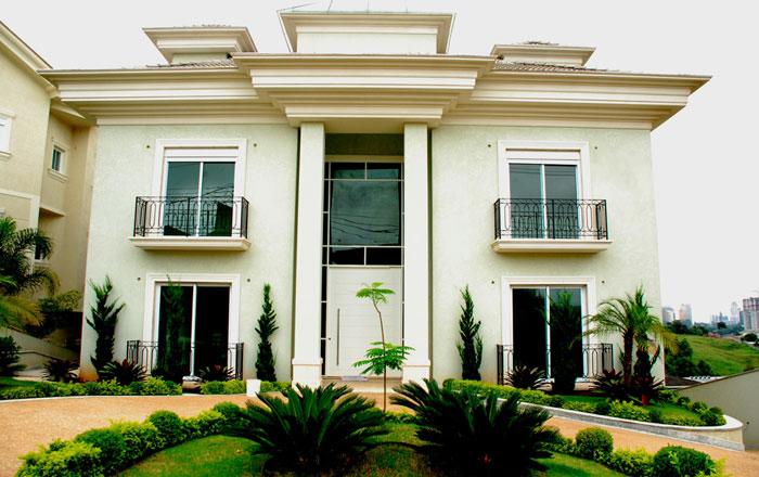 Fotos de fachadas de casas de luxo decorando casas for Fotos de fachadas