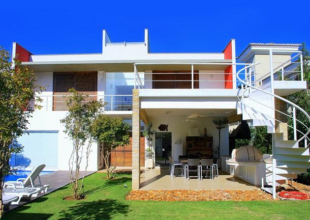 Fotos de fachadas de casas de luxo for Imagenes de fachadas de casas