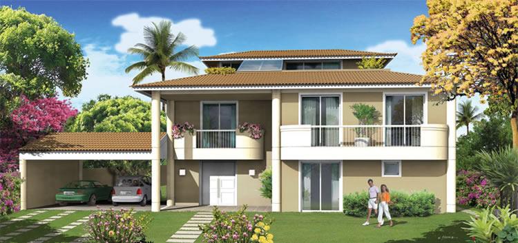 Fotos de fachadas de casas de luxo decorando casas for Casas imagenes fachadas